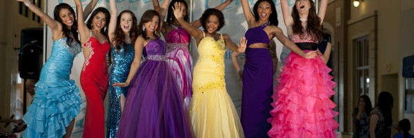 Seventeen Magazine and Camille La vie for Prom Search 2012
