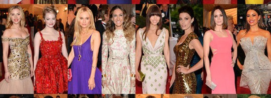 Met Gala 2012 dresses for less at Camille La Vie