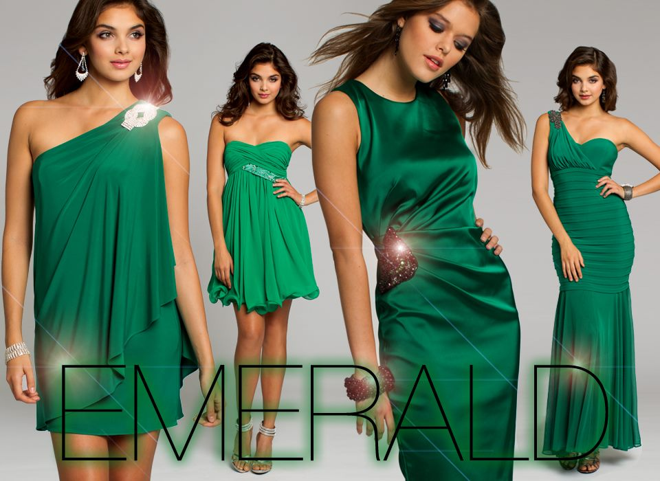 Shop Emerald Homecoming Dresses!