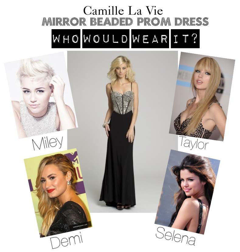 Celebrity style prom dresses!