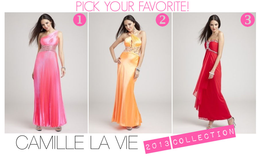 Pick your favorite long dress!