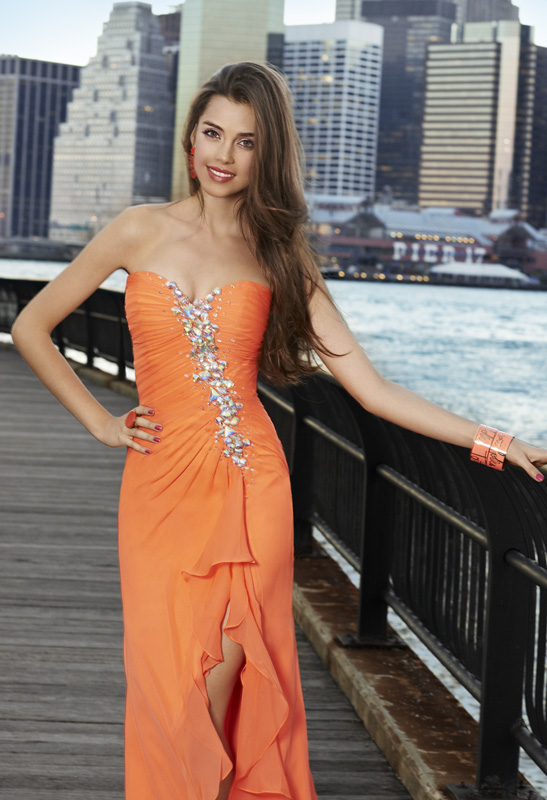 high-low prom dress beauty!