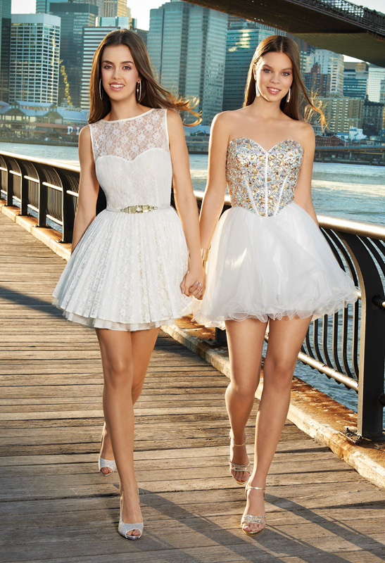 look white hot for prom 2013