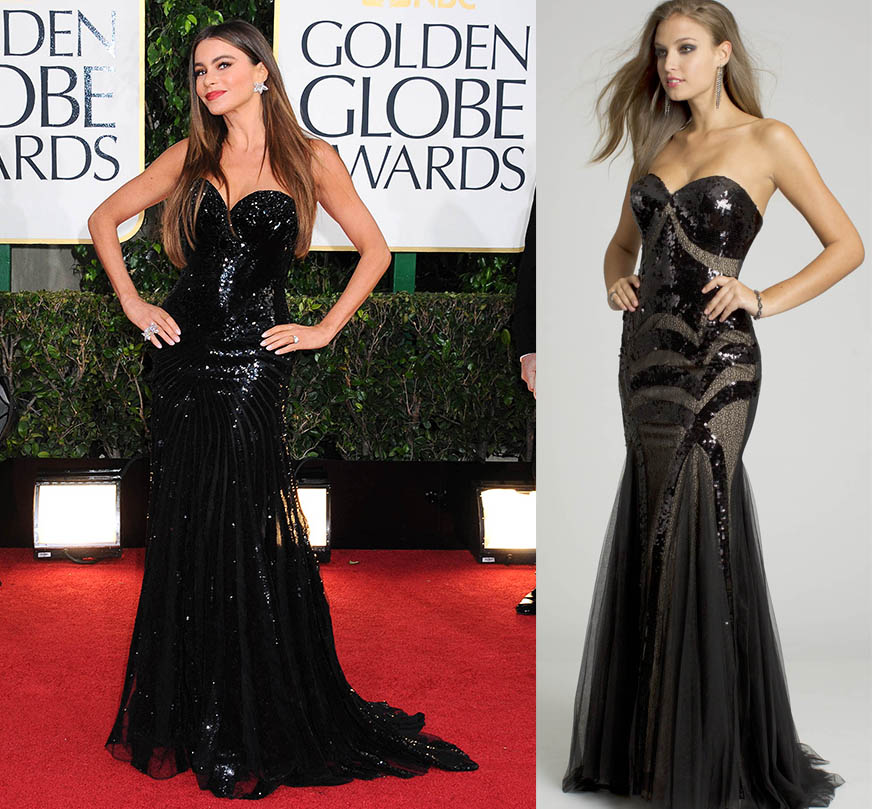 black strapless prom dresses for 2013