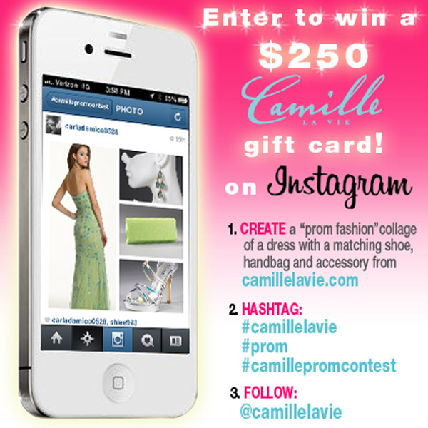 Enter to win $250 gift card from Camille La Vie on Instagram
