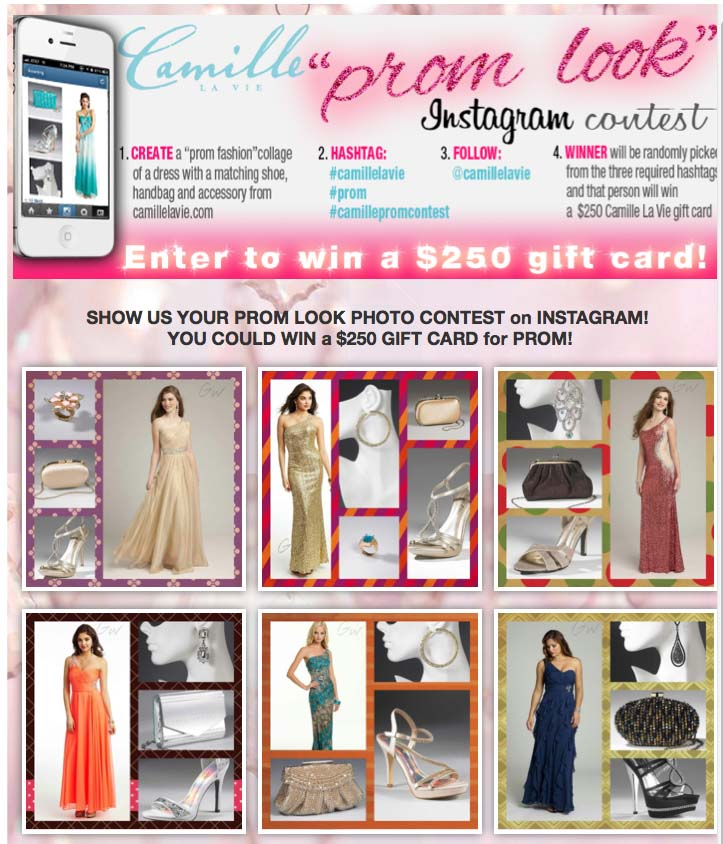 Enter to win a $250 Camille La Vie gift card!