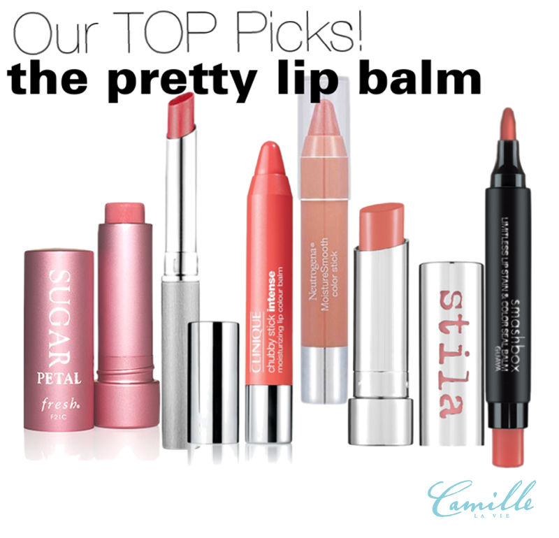 camille la vie lip balm picks with a kick