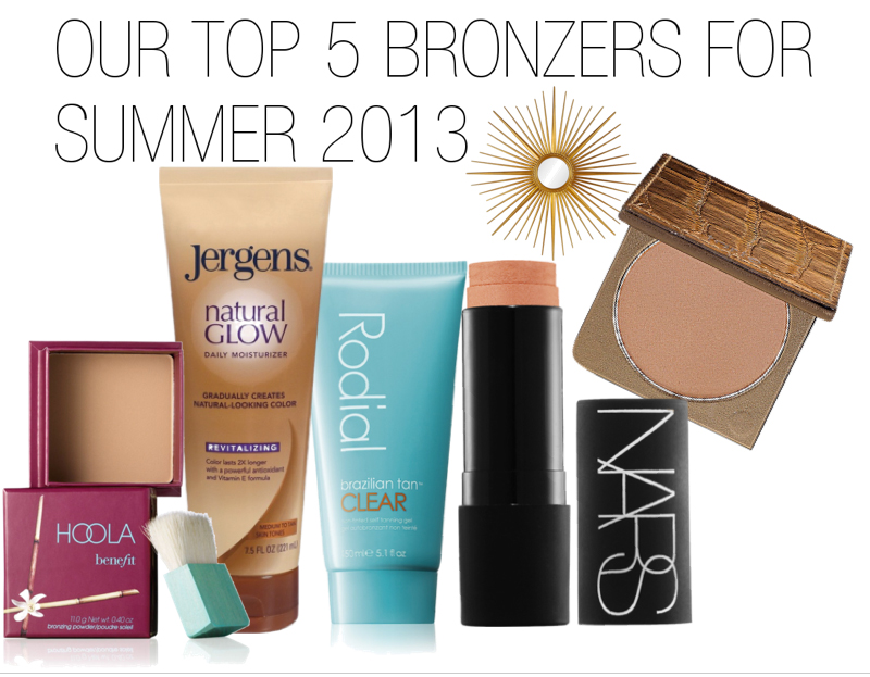 top five bronzers for summer 2013