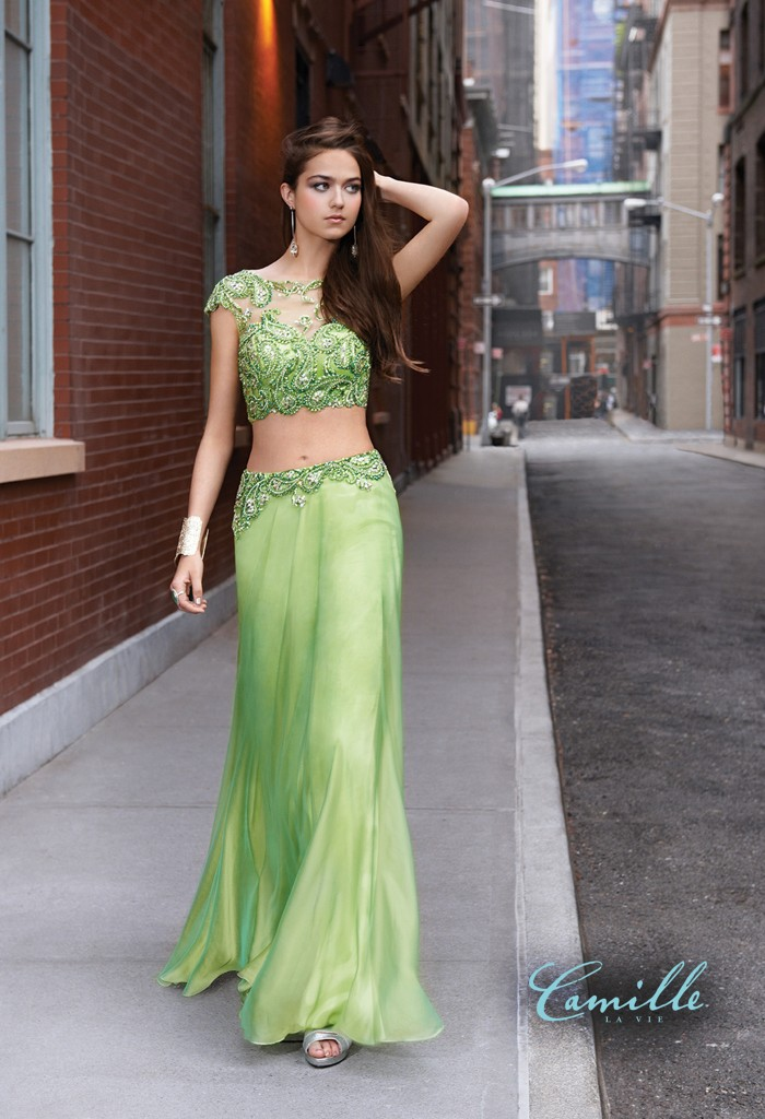 green-two-piece-prom-dress-camille-la-vie