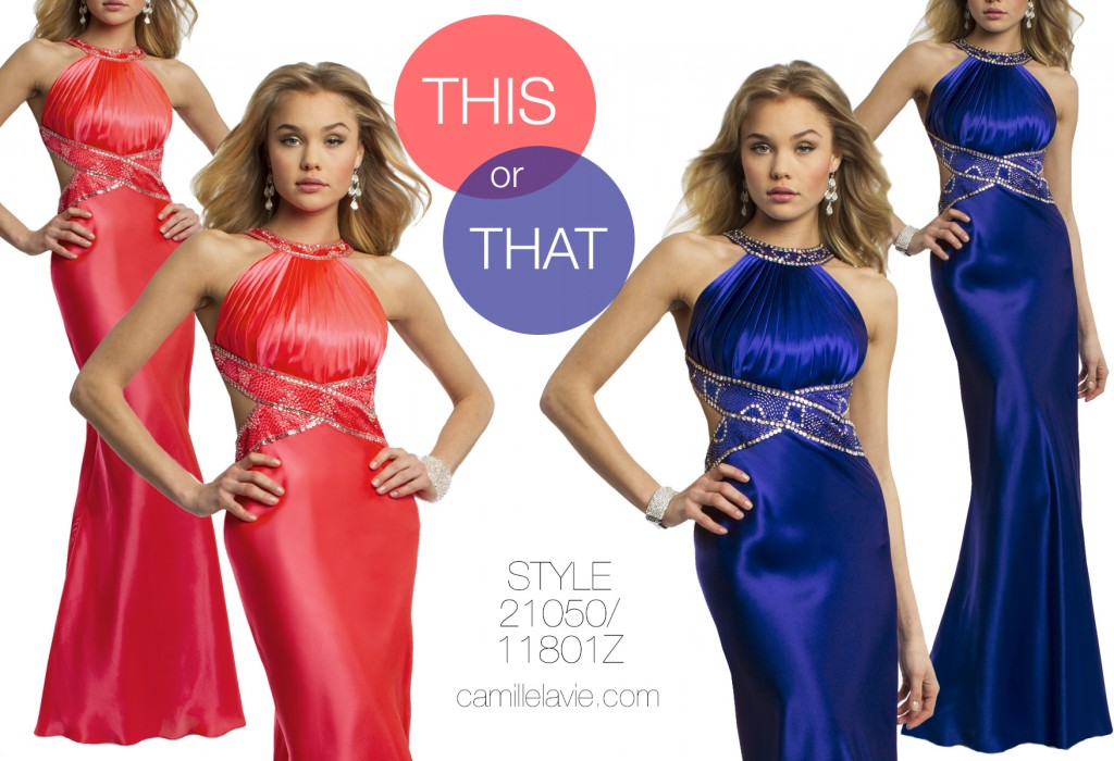 shop your favorite prom colors!