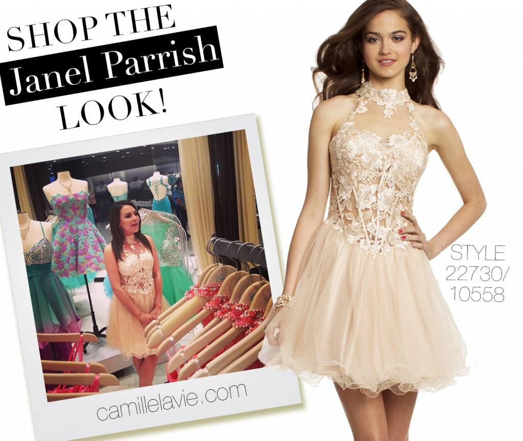 Shop the Janel Parrish Fashion Style for Prom
