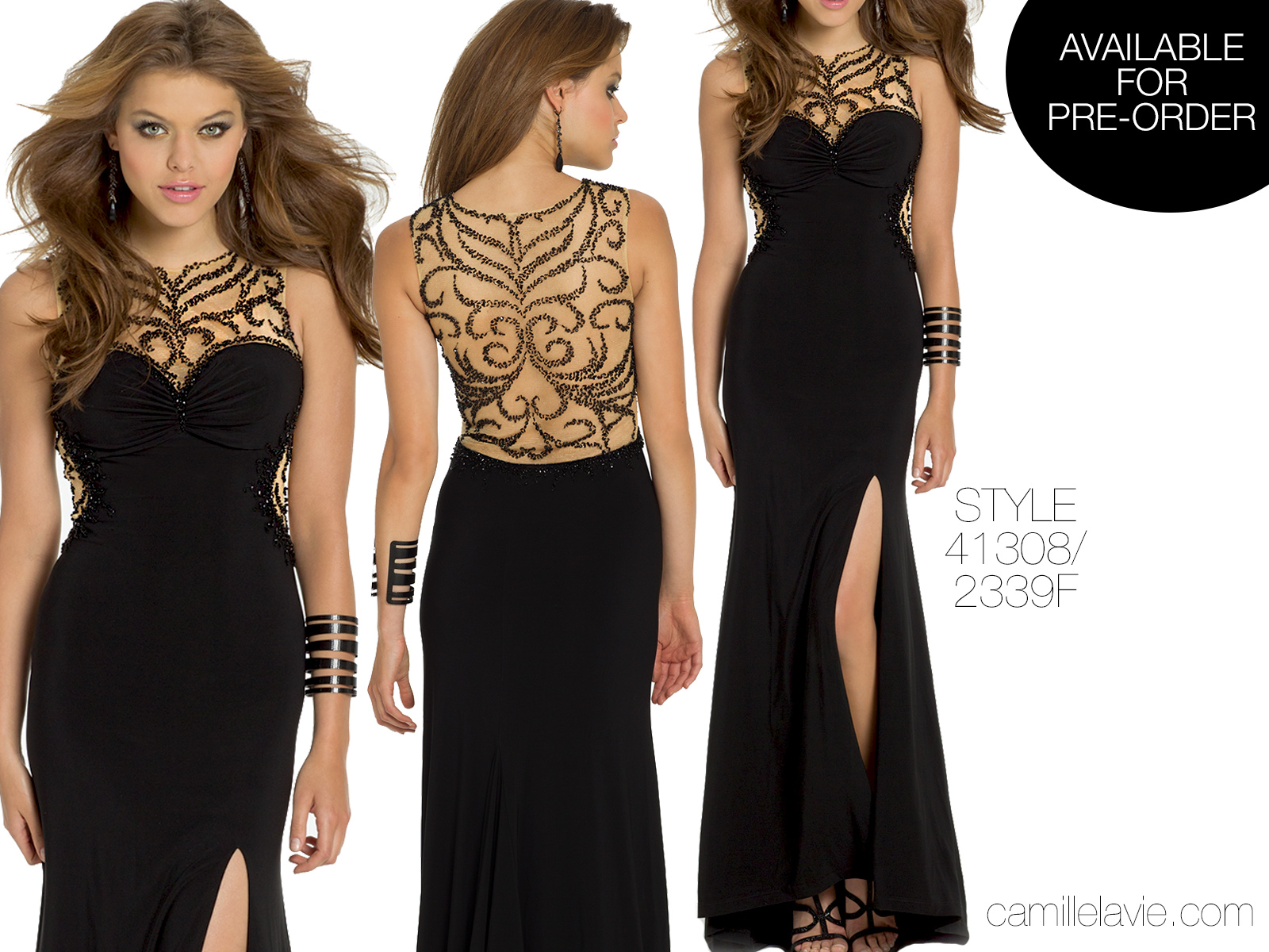 shop black dresses from camille la vie for your next party ...