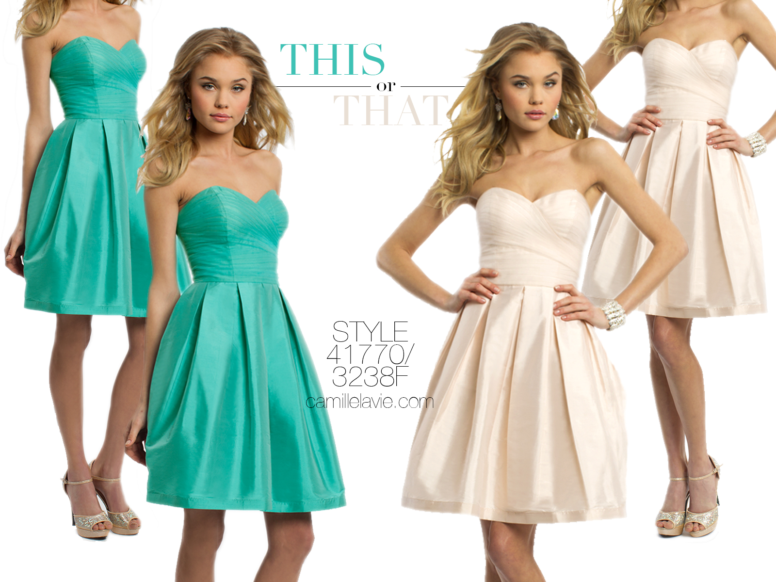 buy all the prettiest short summer dresses for 2014 | Camille La Vie