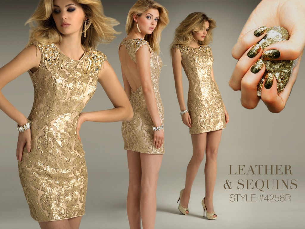gold short dresses for homecoming