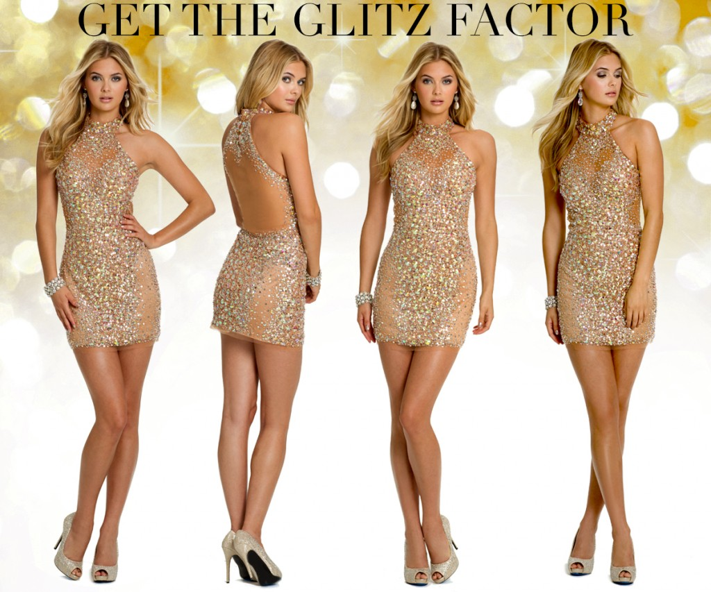 glitzy and glamorous dresses at camille la vie