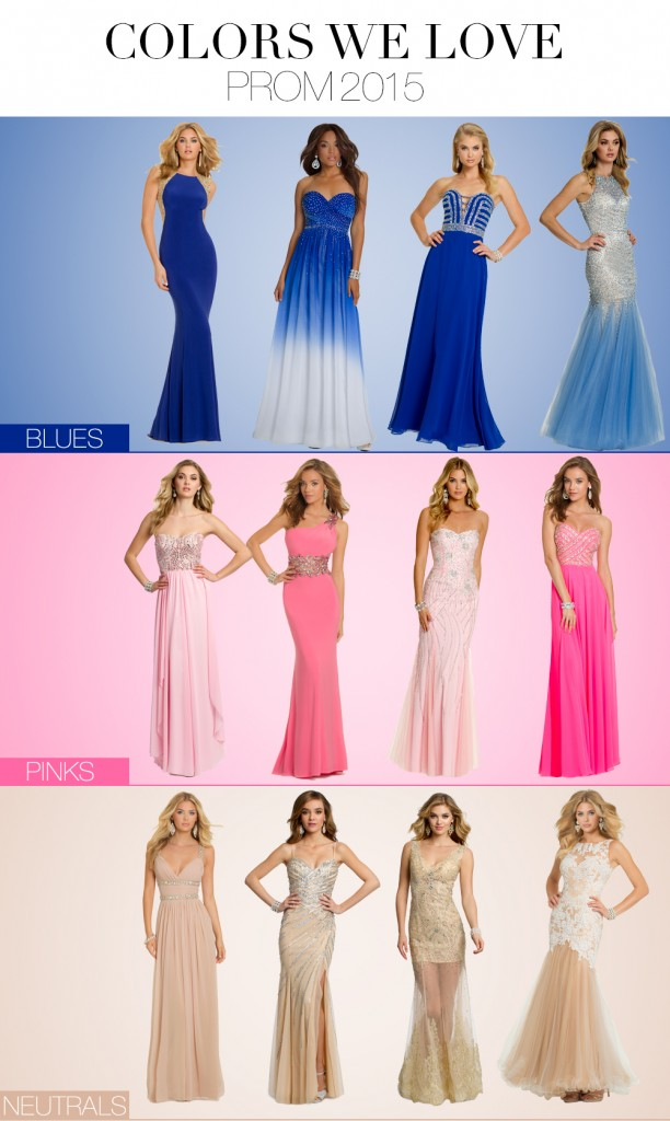 beautiful prom dress colors by camille la vie