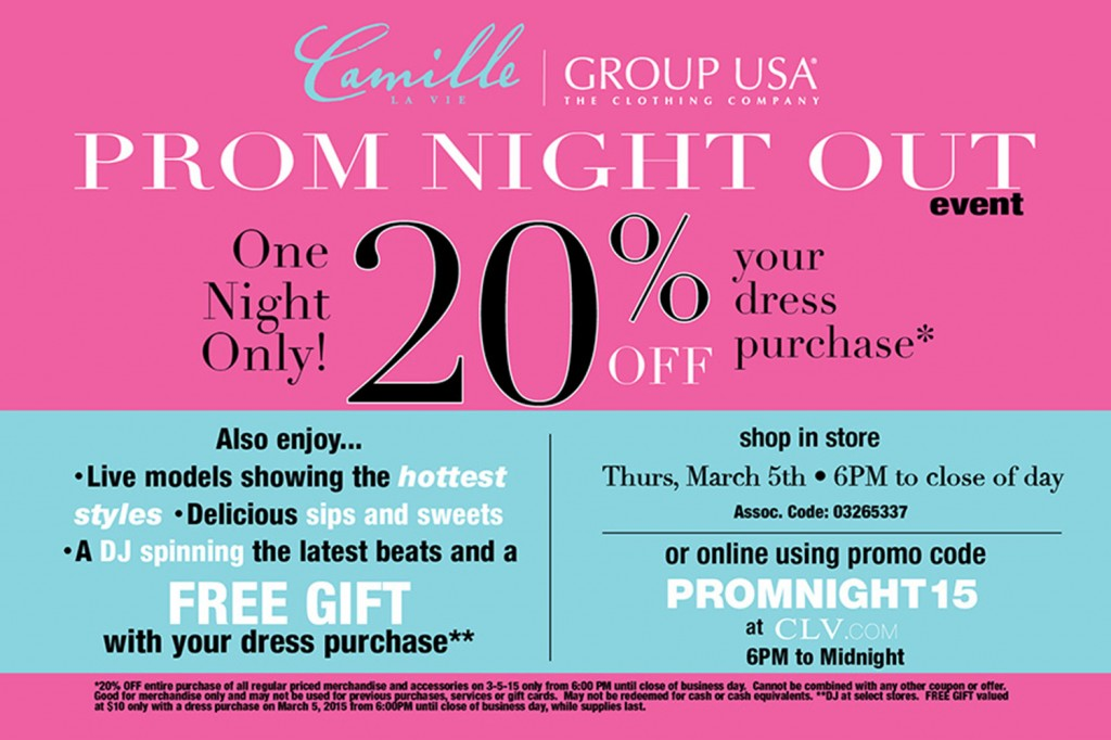 Camille La Vie Prom Night Out Sale