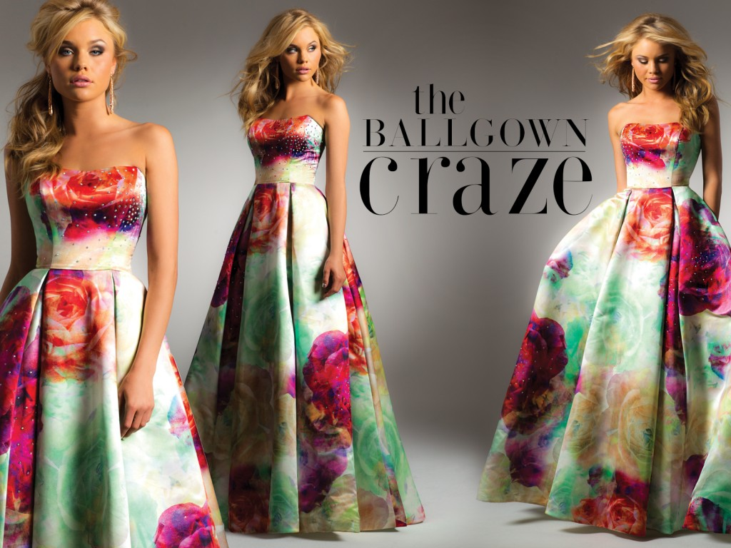 Trend Alert - Satin Ball Gowns for Fall 2015