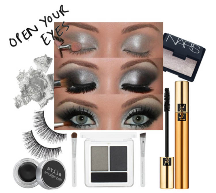 camille la vie smokey eyes