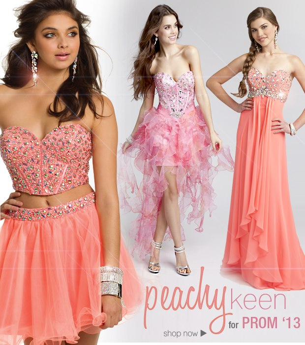 peach colored beauty products for prom 2013 | Camille La Vie