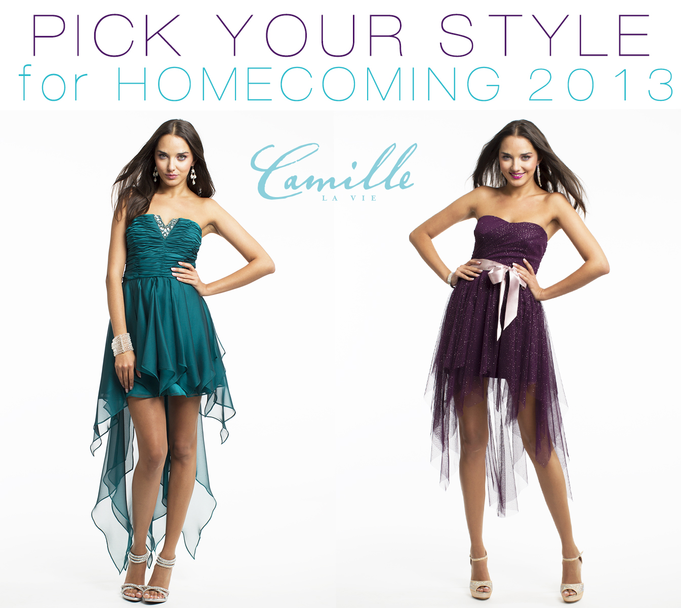 pick the hottest style out of these homecoming dresses  Camille ...