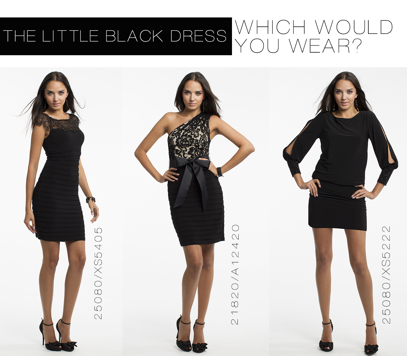 the little black dress designed by camille la vie | Camille La Vie