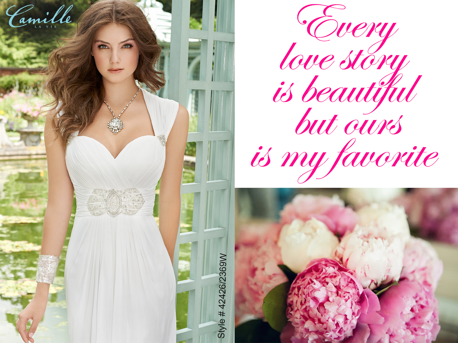 cd6accb92d1 Camille La Vie Group Usa 43424 3254w Wedding Dress The Knot. live out the  ultimate dream wedding