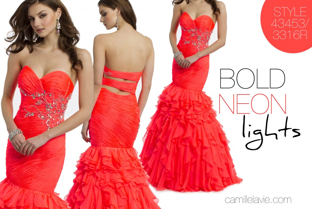 bold colors are in for prom 2014