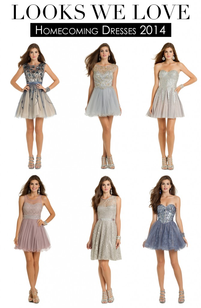 homecoming short dresses for party 2014