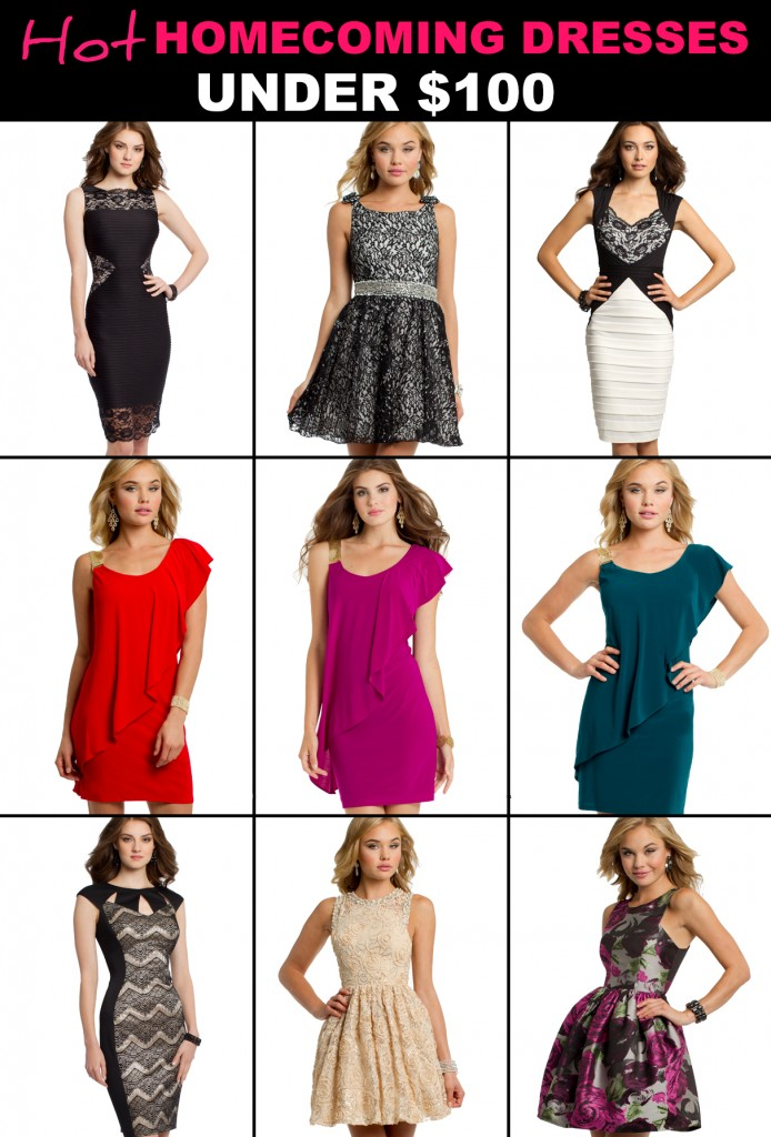 Stylish party dresses for less