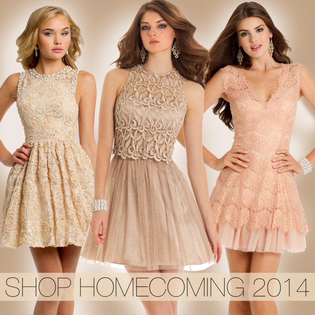 f687c5192ec Short Homecoming Dresses in Soft Pretty Colors