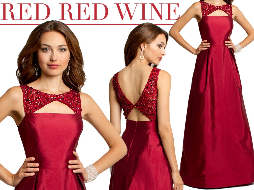 new wine burgundy dress at camille la vie