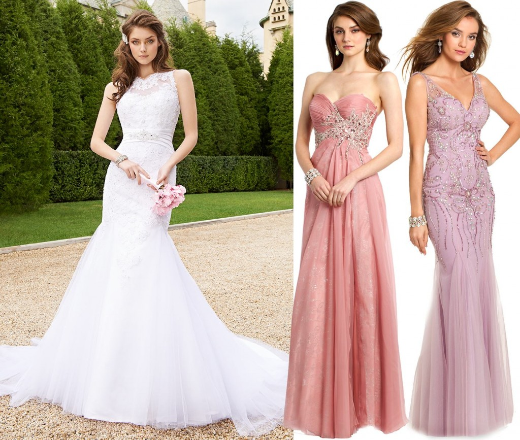 wedding and bridesmaid dresses by camille la vie for 2015