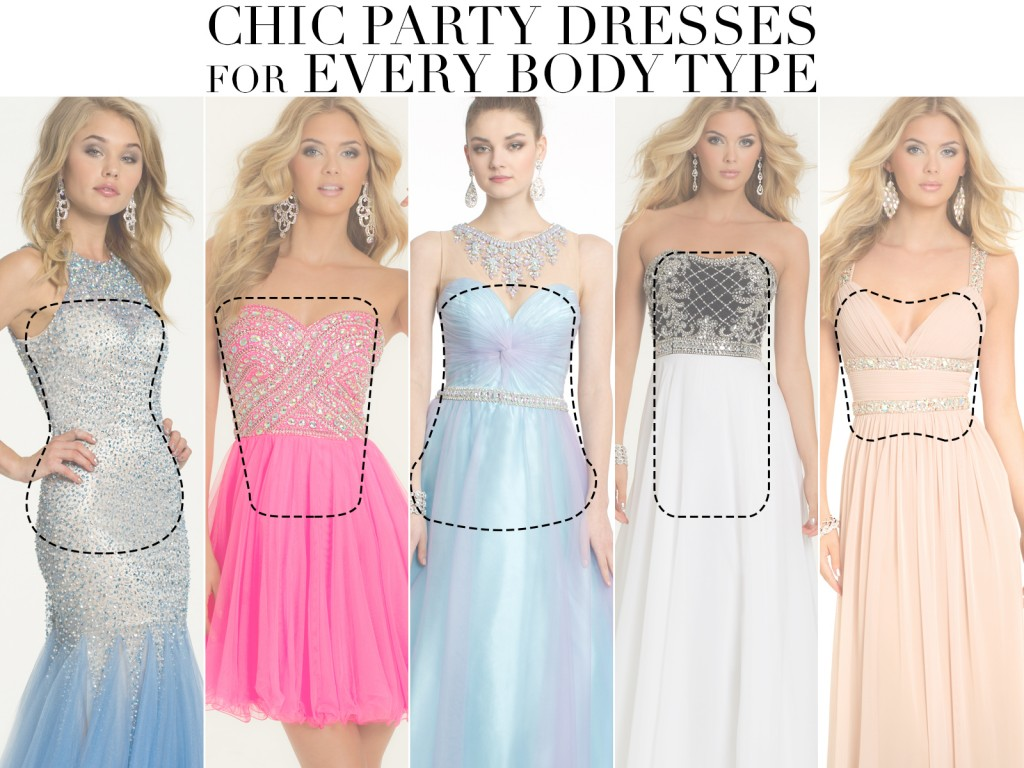 Prom Dresses And Party Styles For Different Body Types Camille La Vie