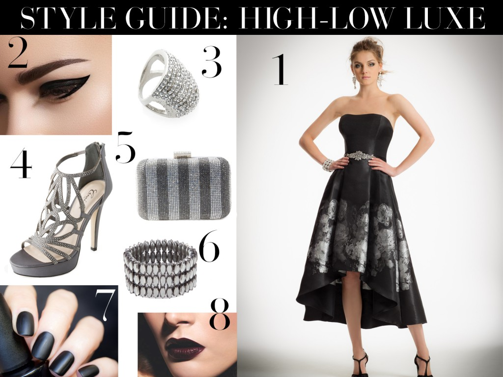 LUXE IN HIGH-LOW FOR HOMECOMING