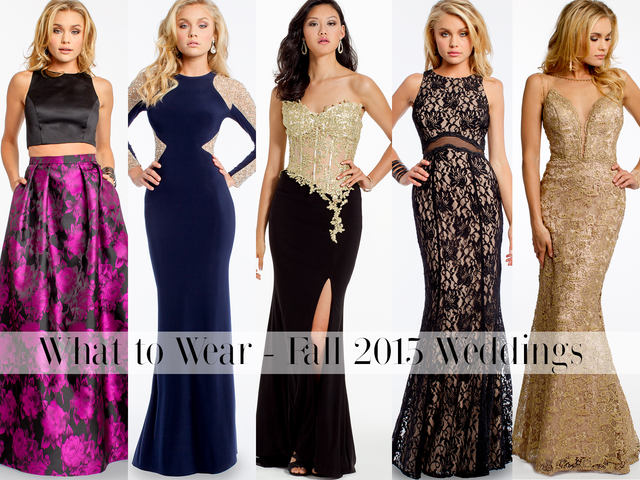 What To Wear: Fall Weddings