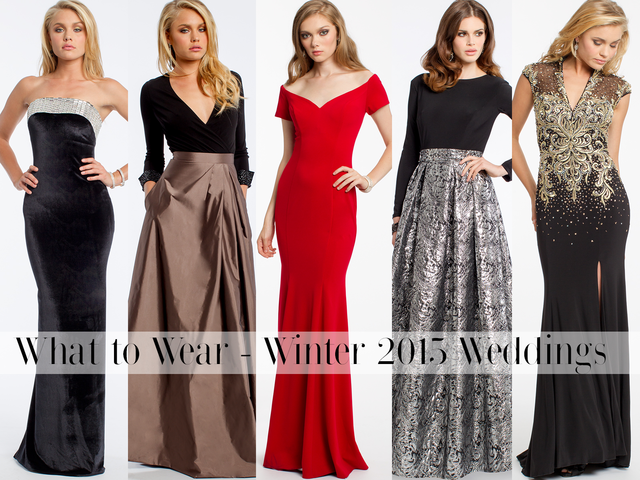What To Wear: Winter Weddings