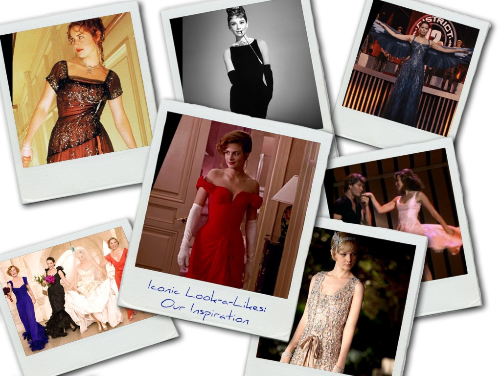 ICONIC MOVIE DRESSES