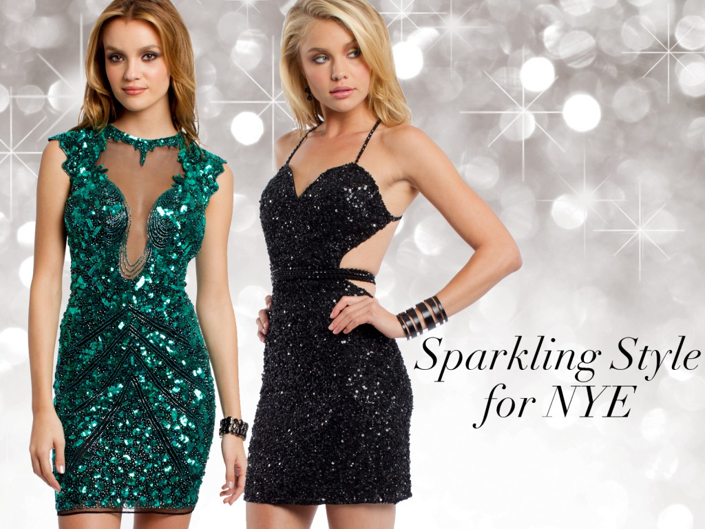 How to Style Your Sequin Dress for New Year's Eve