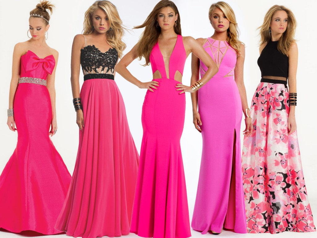 Hot Pink Prom Trends