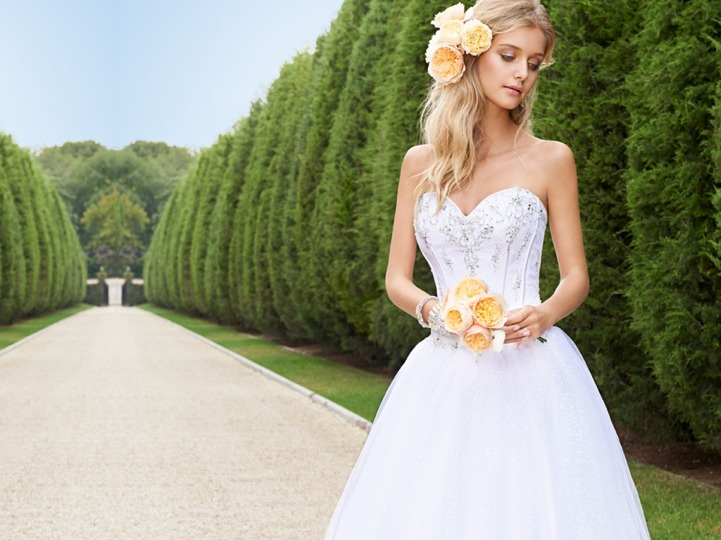 Stylish brides can buy lots of wedding dresses instantly