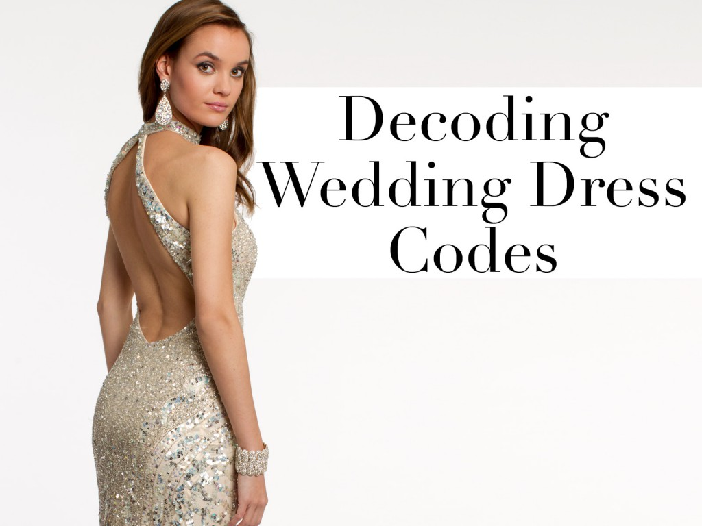 Decoding Wedding Guest Dress Codes