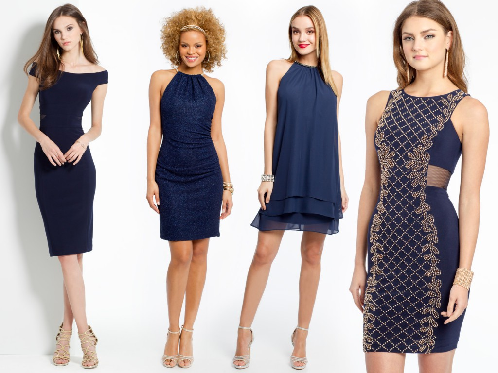 Chic Navy Dresses for Summer