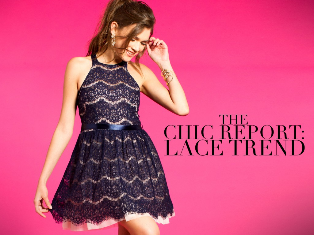 Short Lace Homecoming Dresses