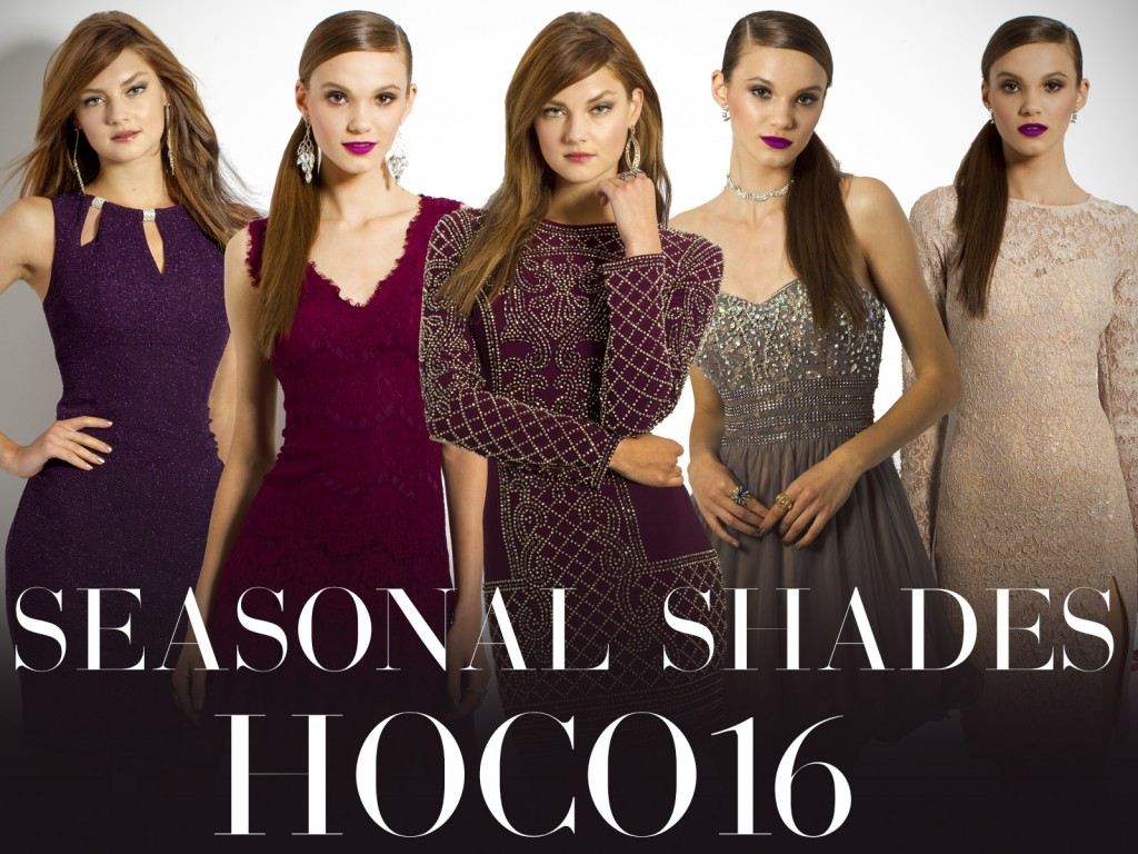 Seasonal Shades for Homecoming Dresses