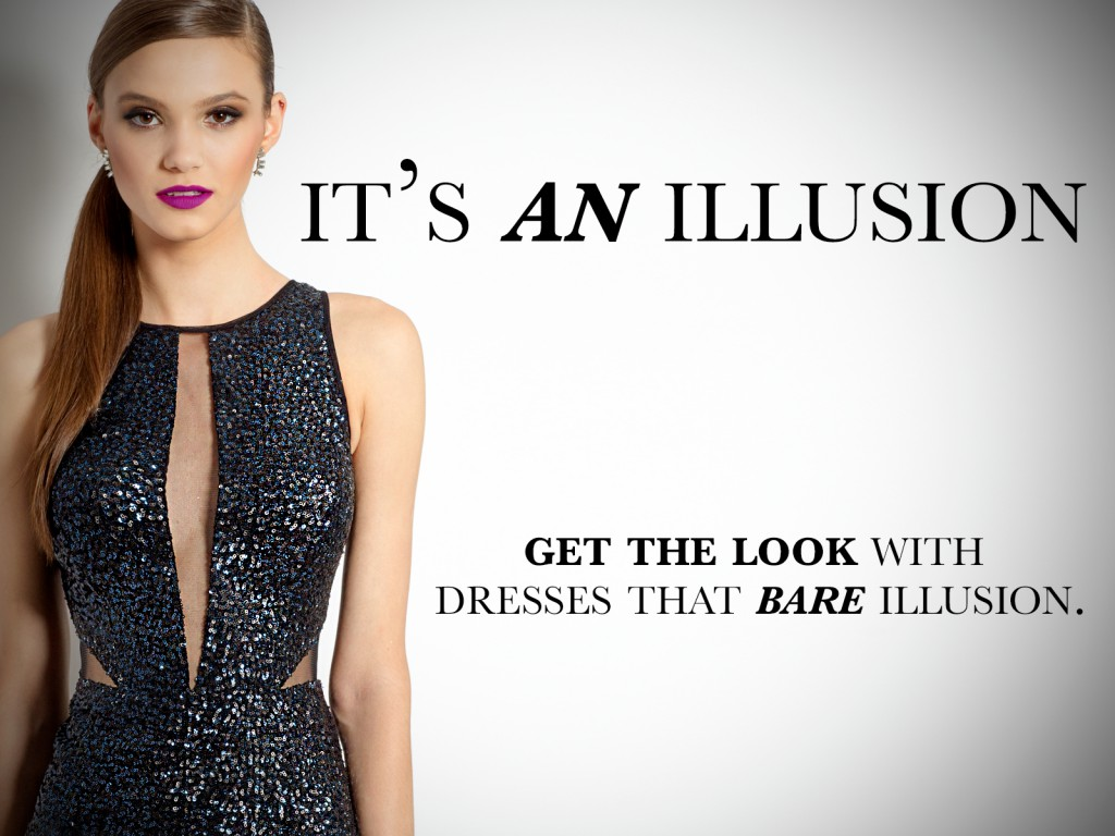 Dresses with Illusion