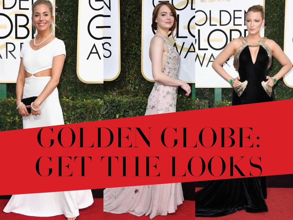 Golden Globes 2017 Red Carpet Style