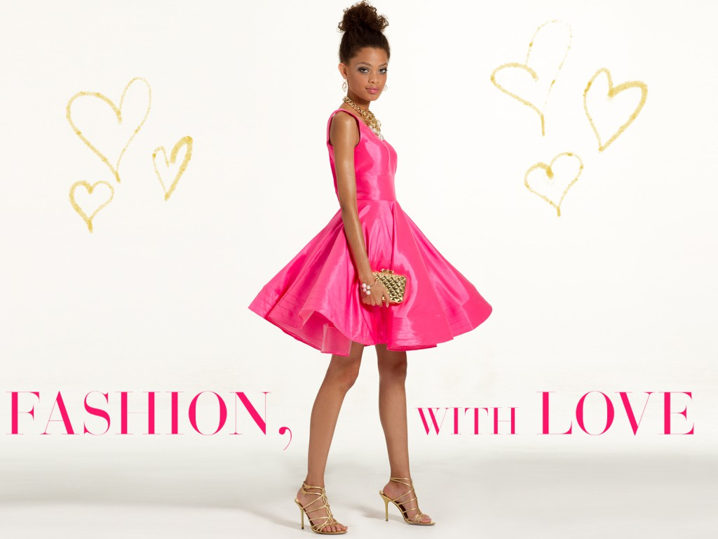 Pink Valentine's Day Dress