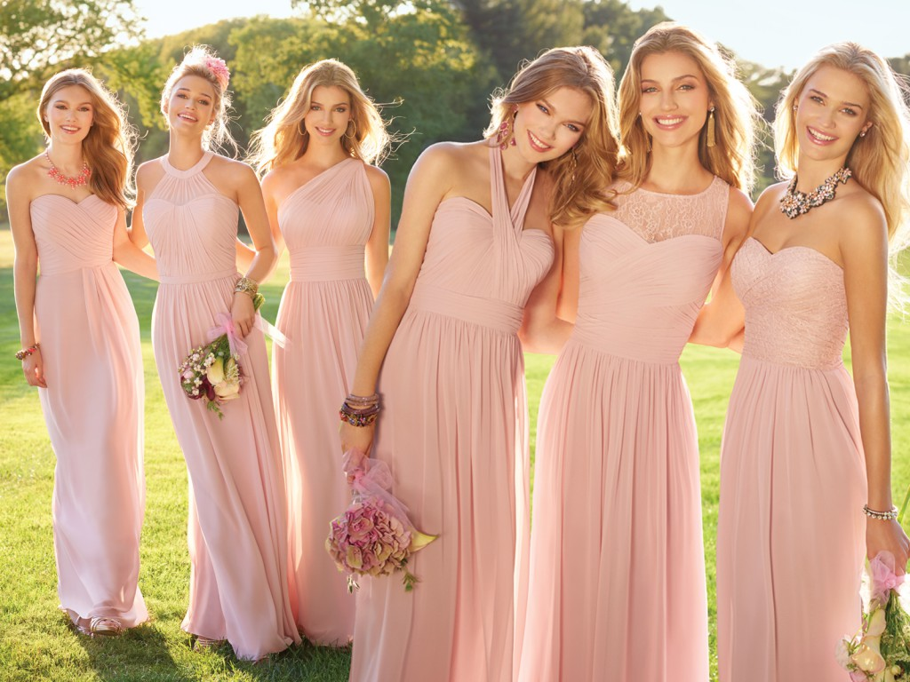 Rose Bridesmaids Dresses by Camille La Vie