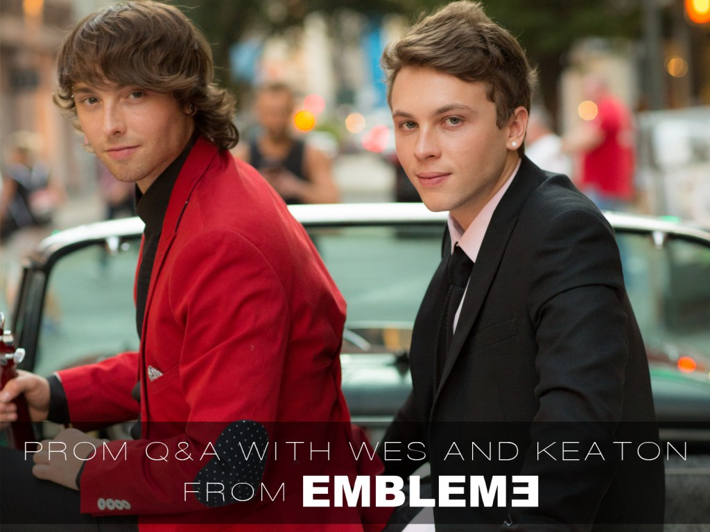 Wesley and Keaton Stromberg from Emblem 3